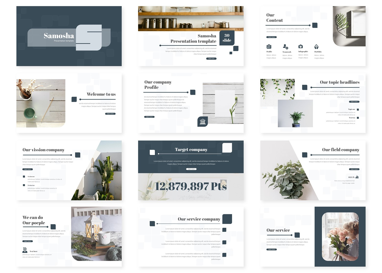 Samosha PowerPoint Template