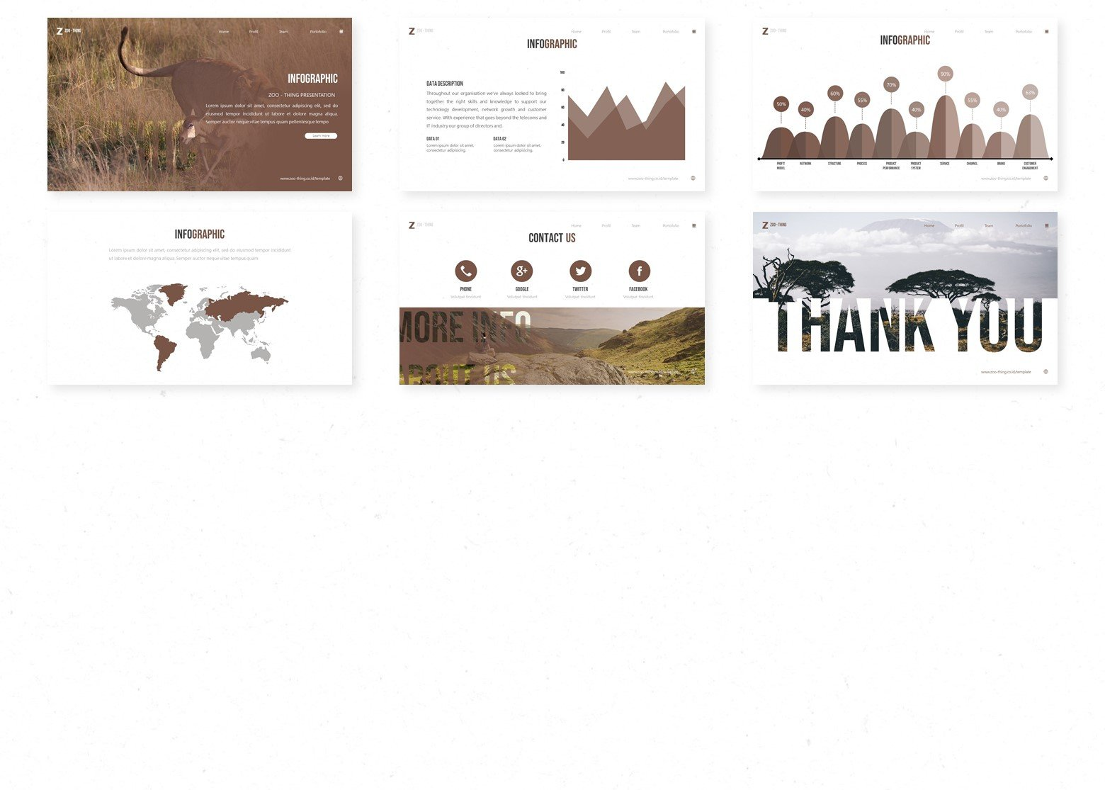 Zoothing PowerPoint Template