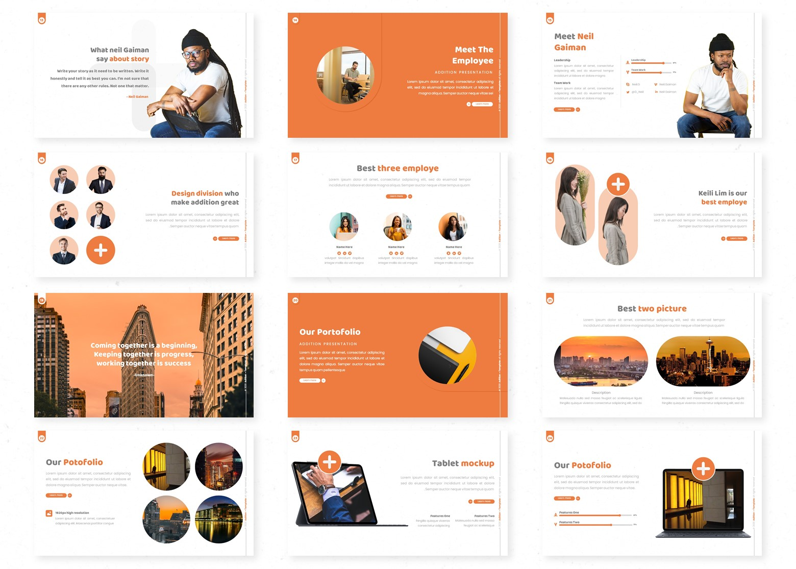 Addition PowerPoint Template