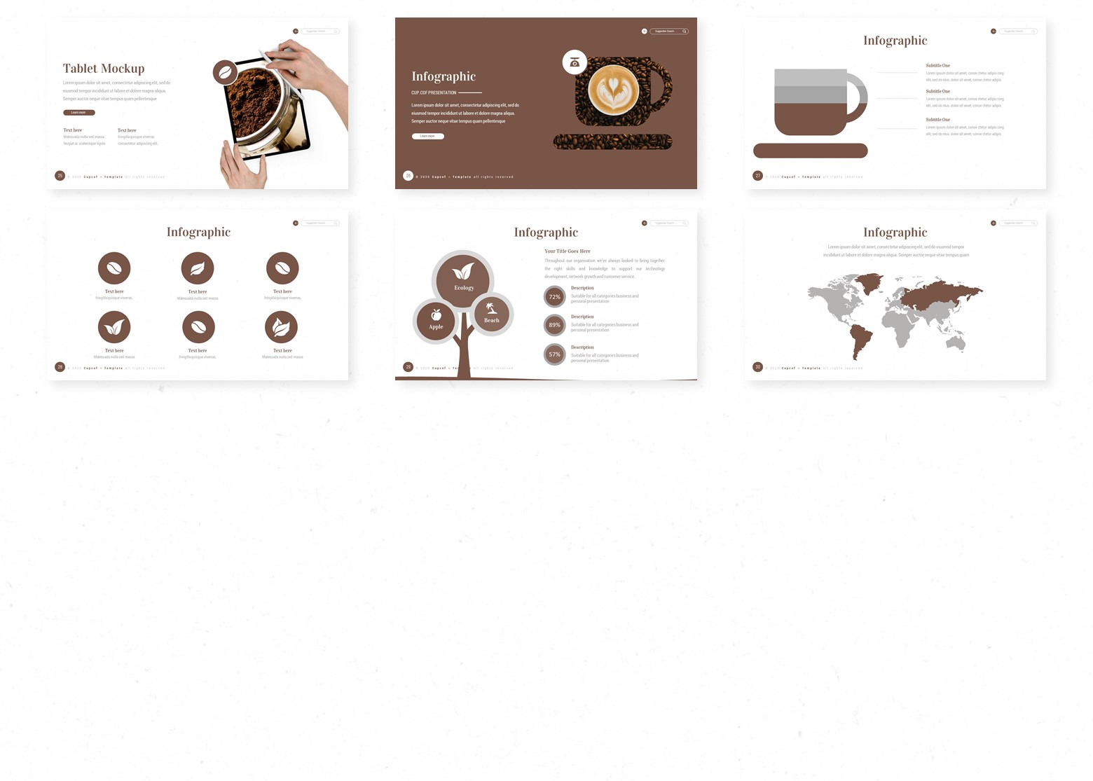 Cup.cof PowerPoint Template