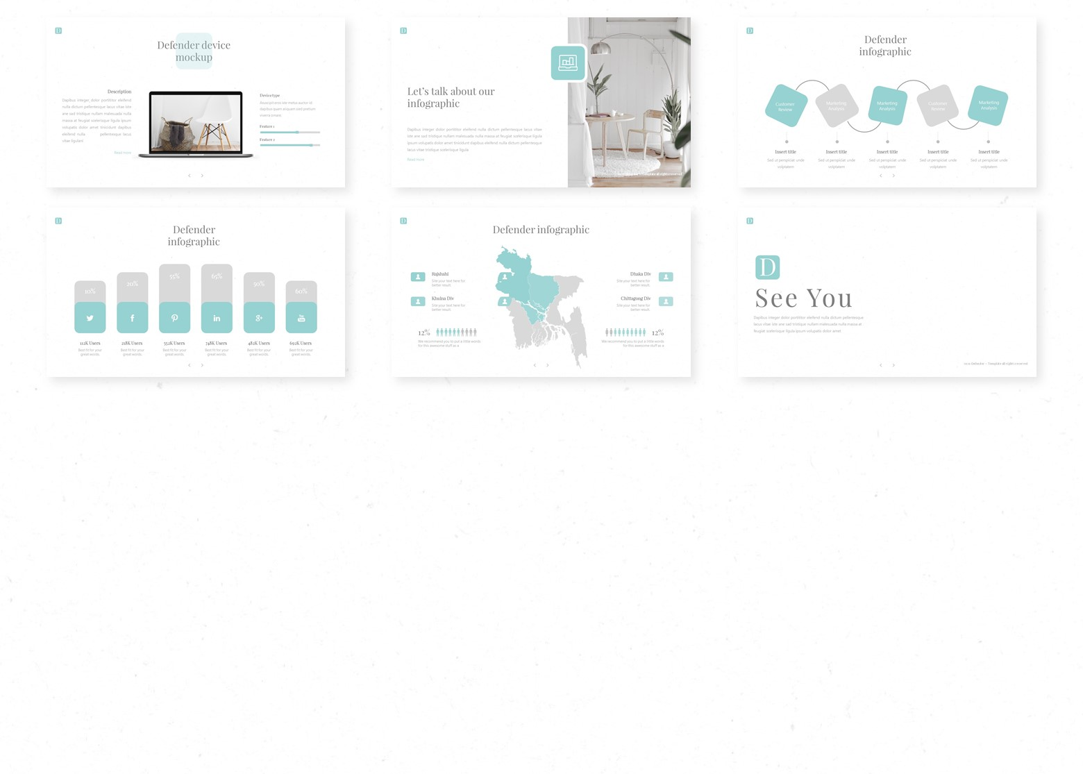 Defender PowerPoint Template