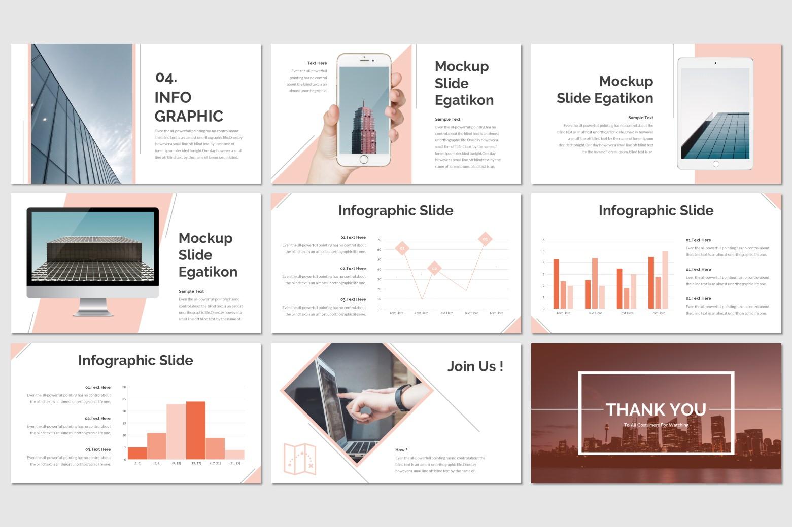 Egatikon PowerPoint Template