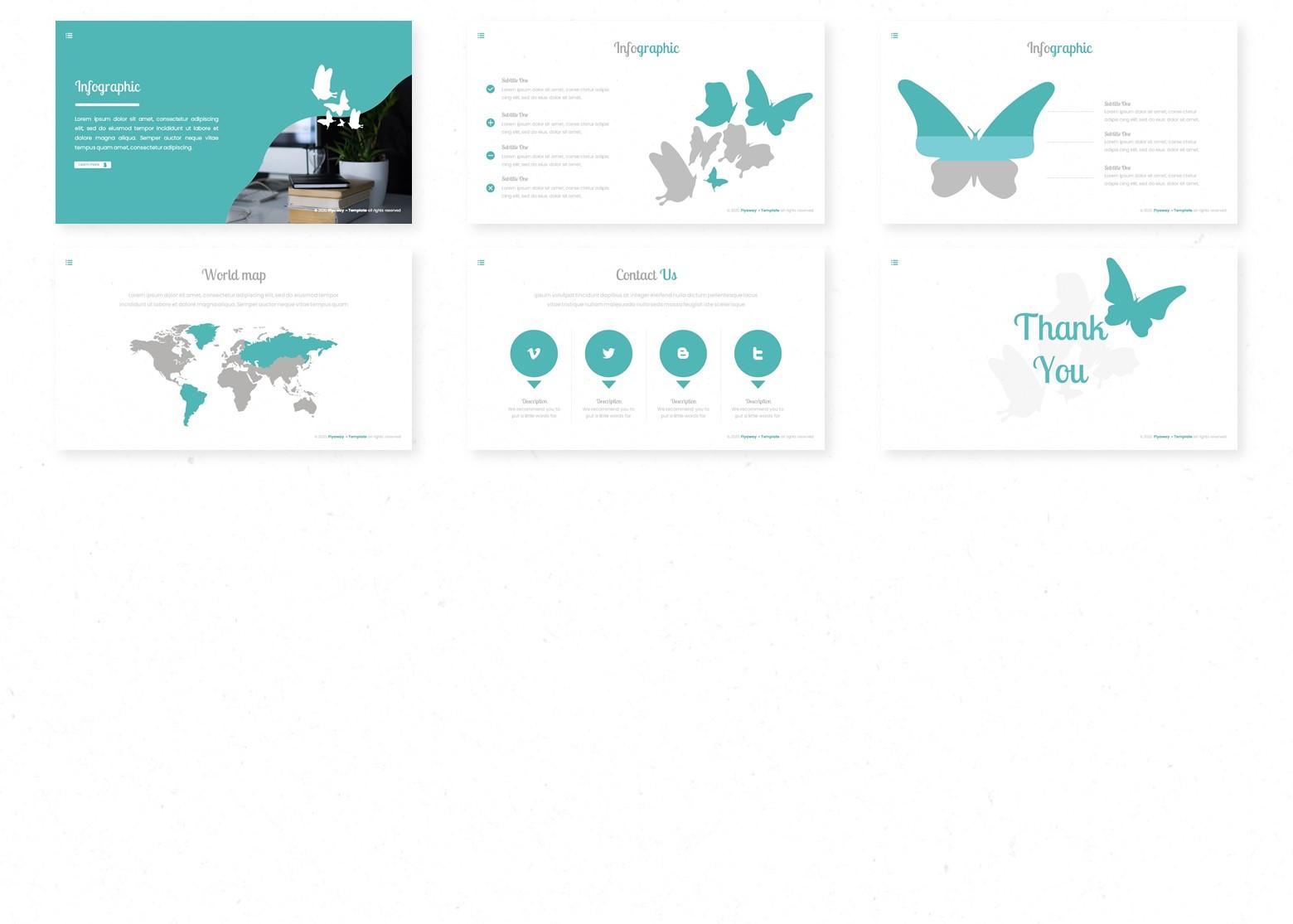 Flyaway PowerPoint Template