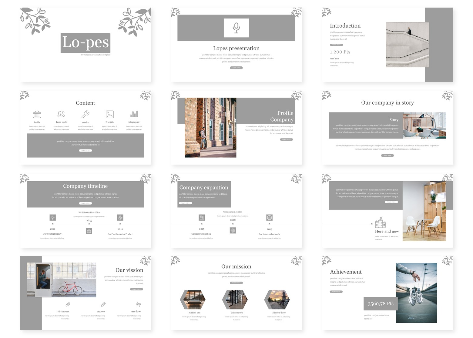 Lopes PowerPoint Template