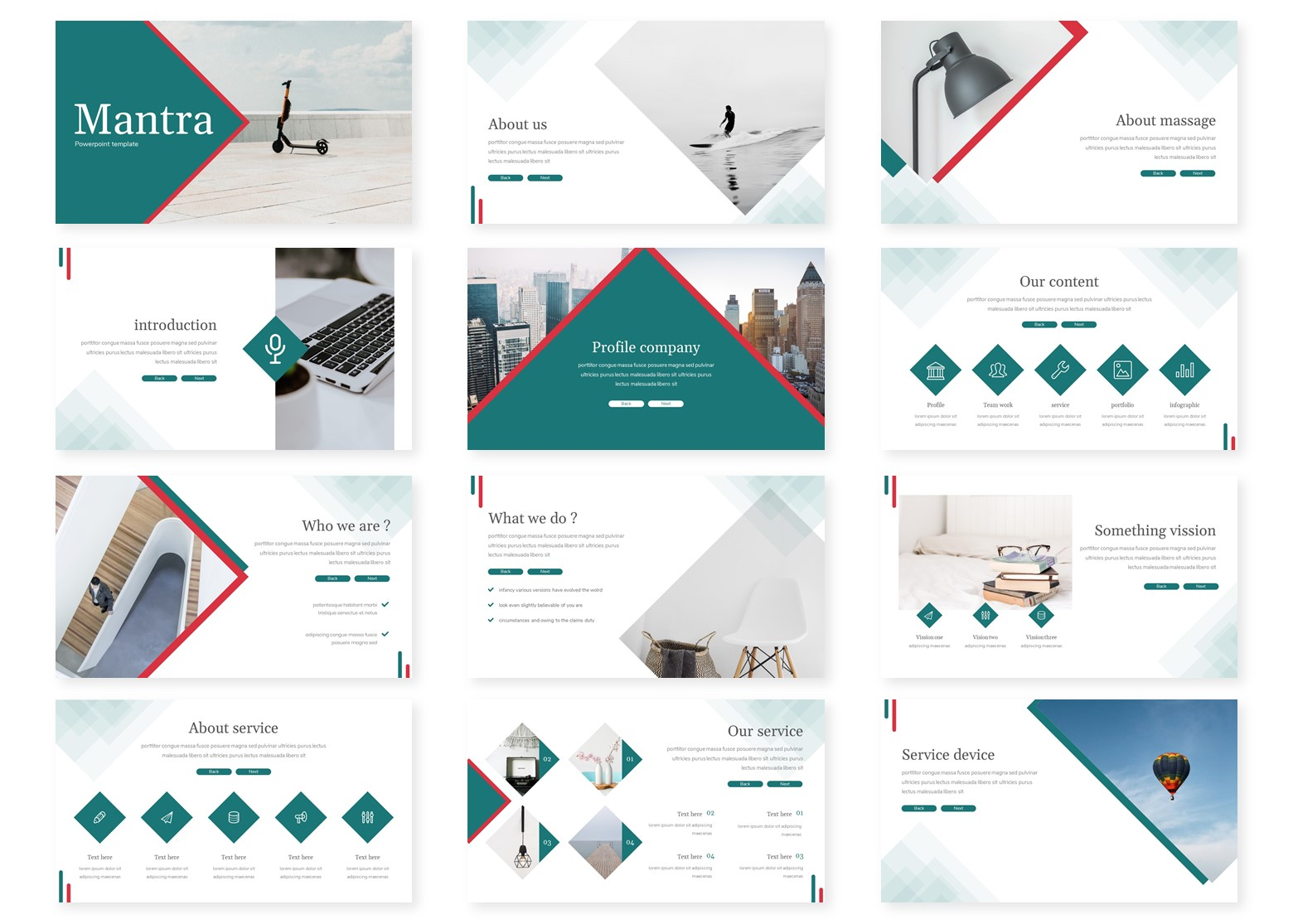 Mantra PowerPoint Template