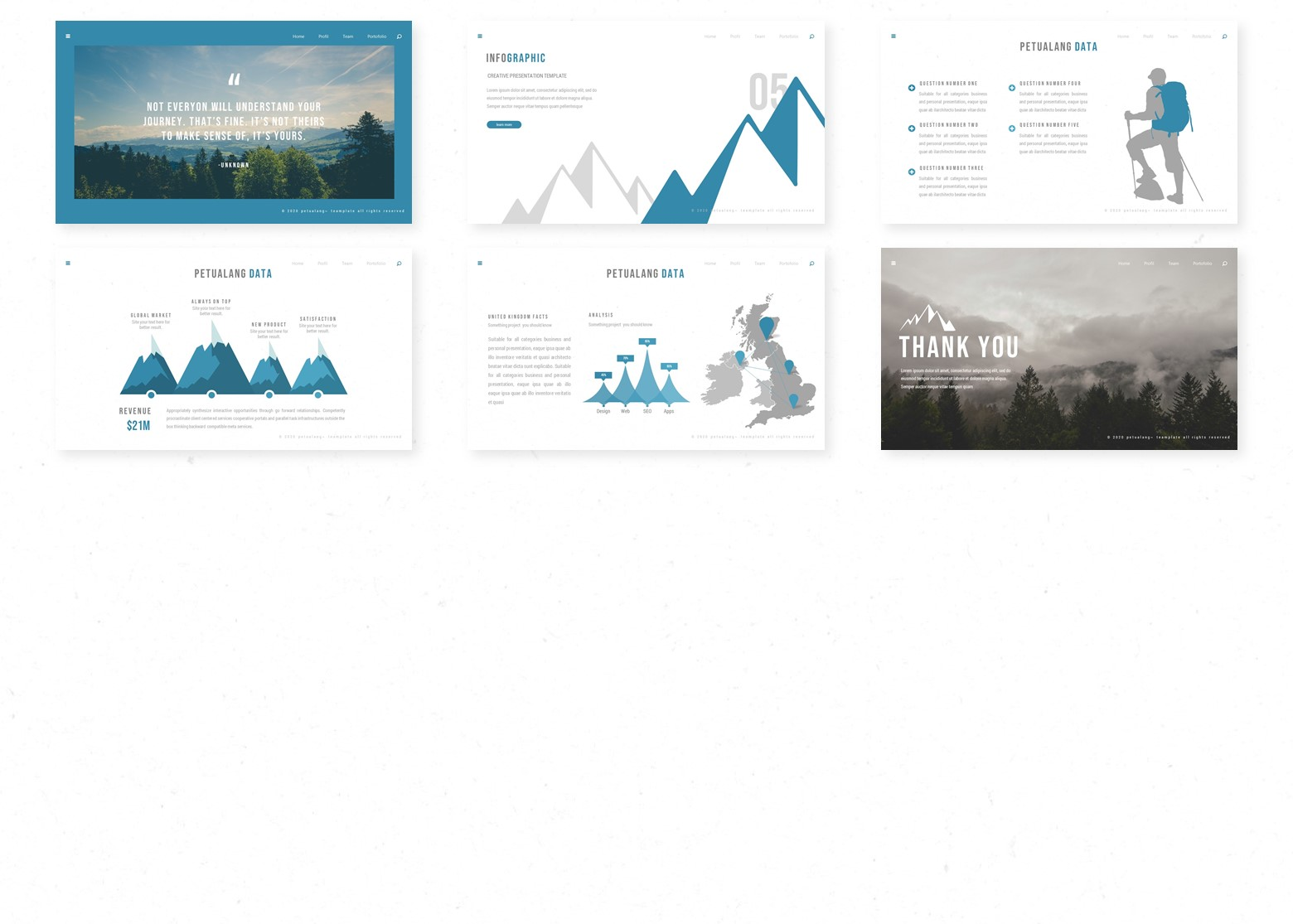 Petualang PowerPoint Template