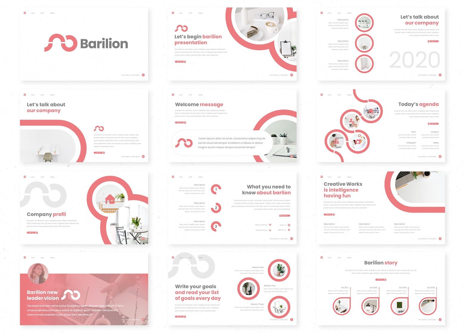 Barilion PowerPoint Template