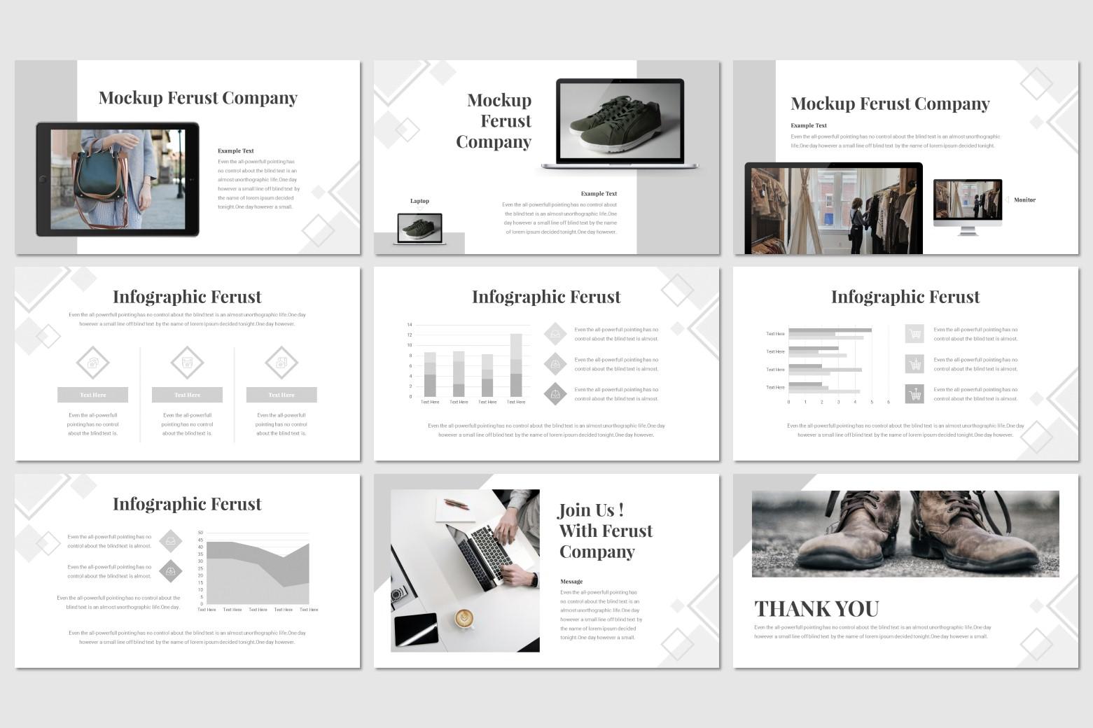 Ferust PowerPoint Template
