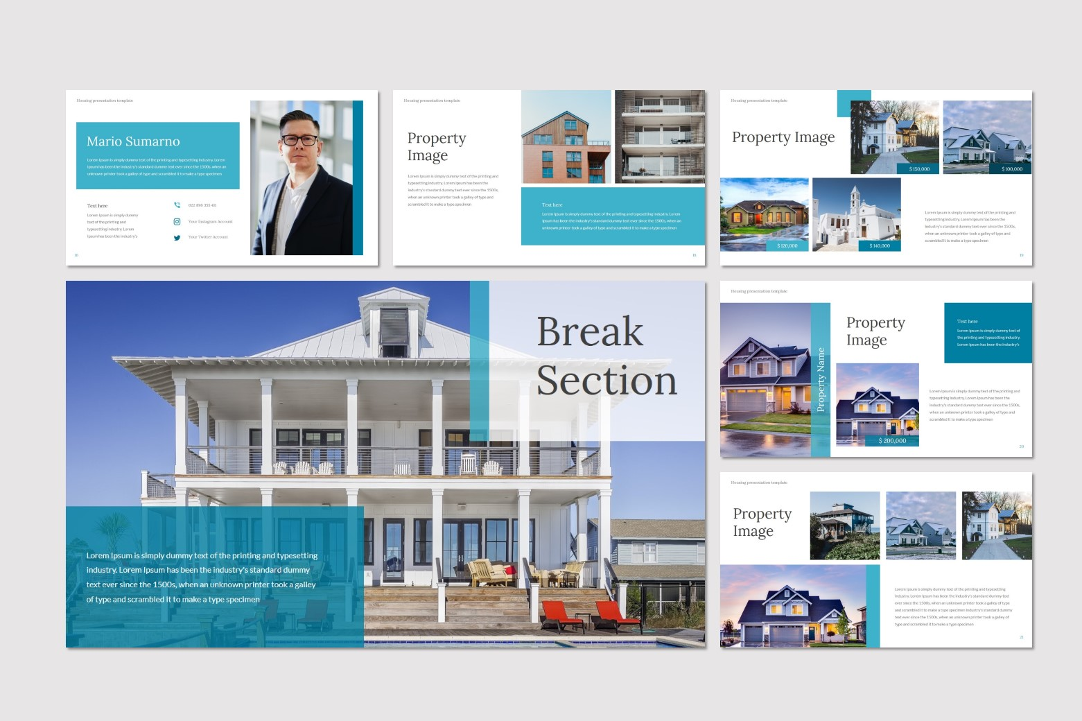 Housing PowerPoint Template