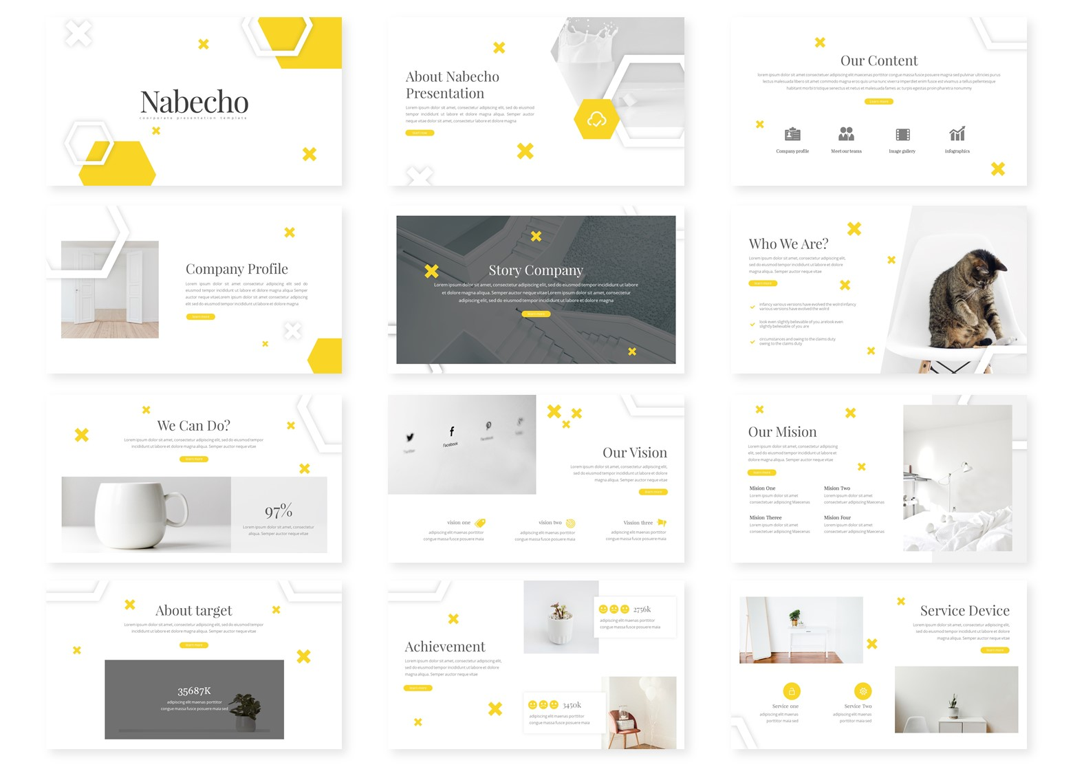 Nabecho PowerPoint Template