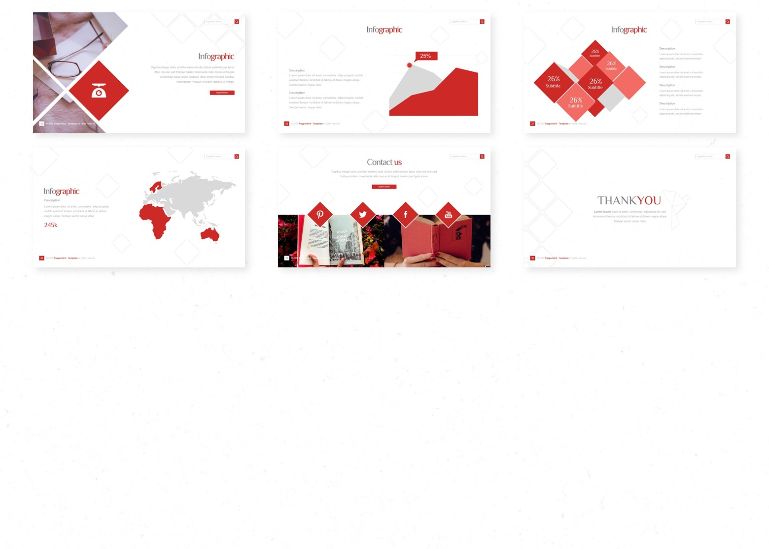Papperbird PowerPoint Template