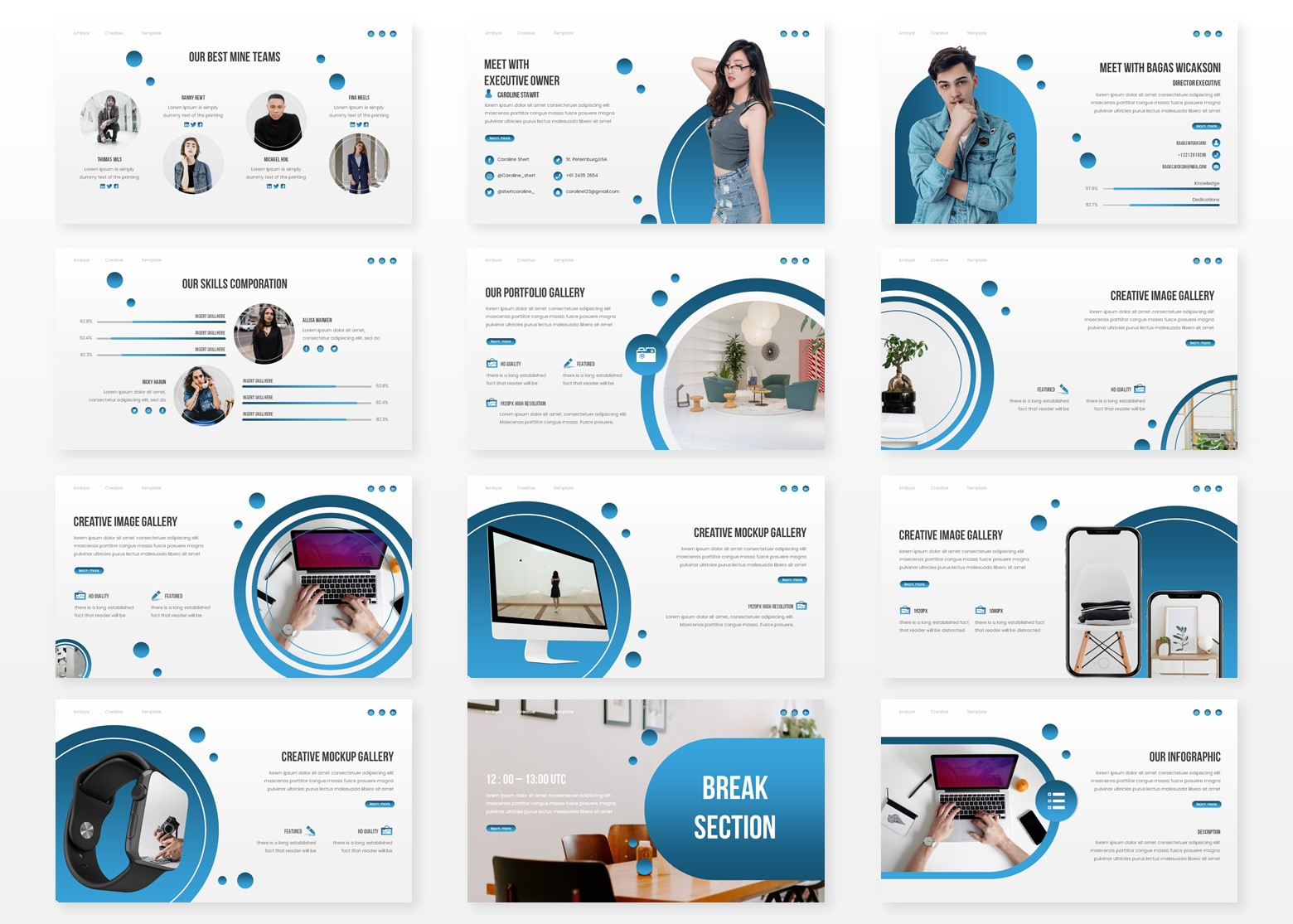 Ambyar PowerPoint Template