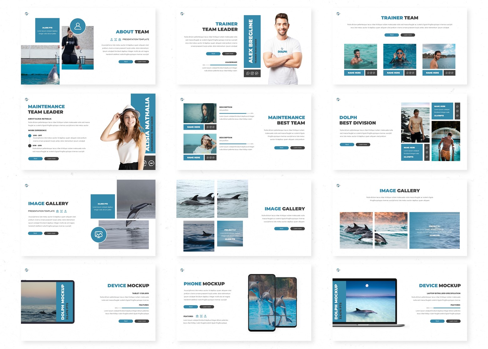 Dolph PowerPoint Template