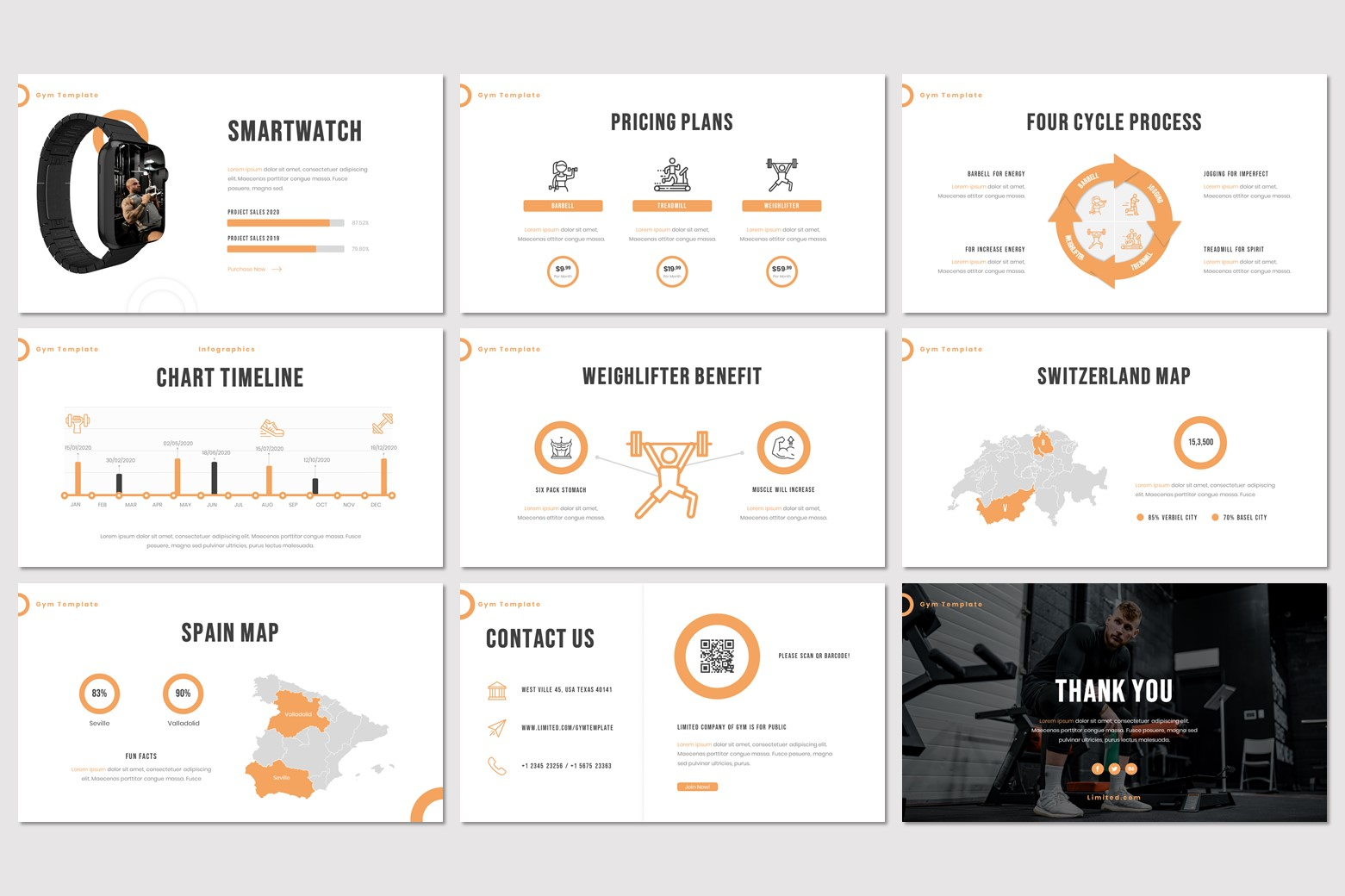 Limited PowerPoint Template