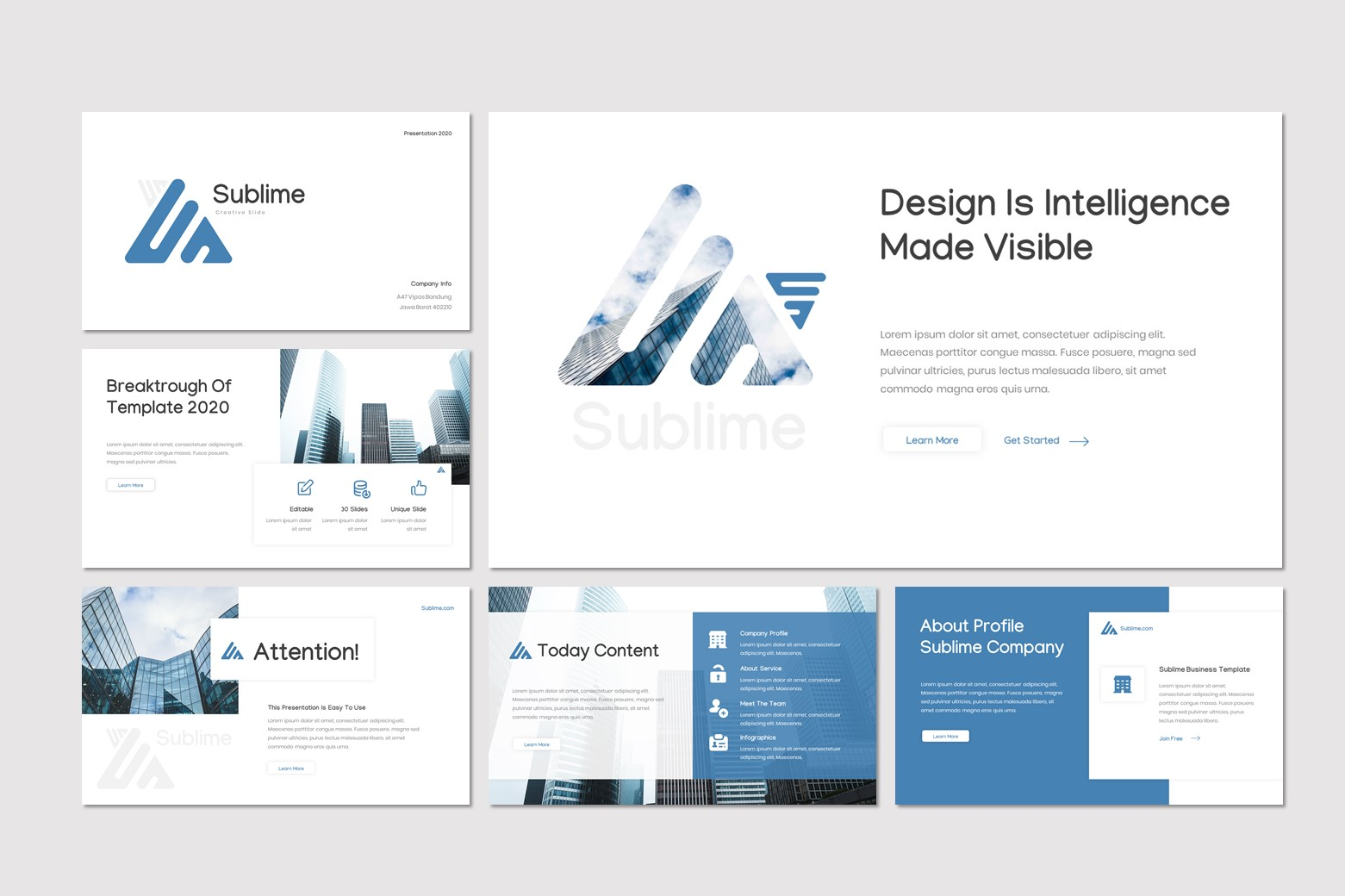 Sublime PowerPoint Template