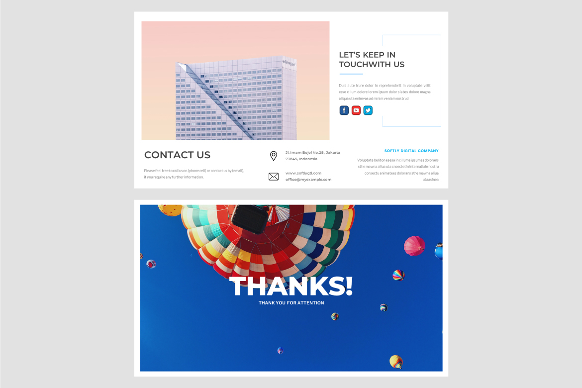 Softly – Creative PowerPoint Template
