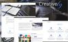 """PSD šablona """"Creatively"""" Velký screenshot"""