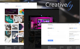 Creatively PSD Template