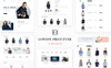 Eb Fashion Multistore OpenCart Template Big Screenshot