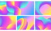 Abstract 3D Flow Backgrounds Vol.1 Illustration Big Screenshot