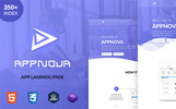 """Шаблон посадочной страницы """"Appnova - App"""""""
