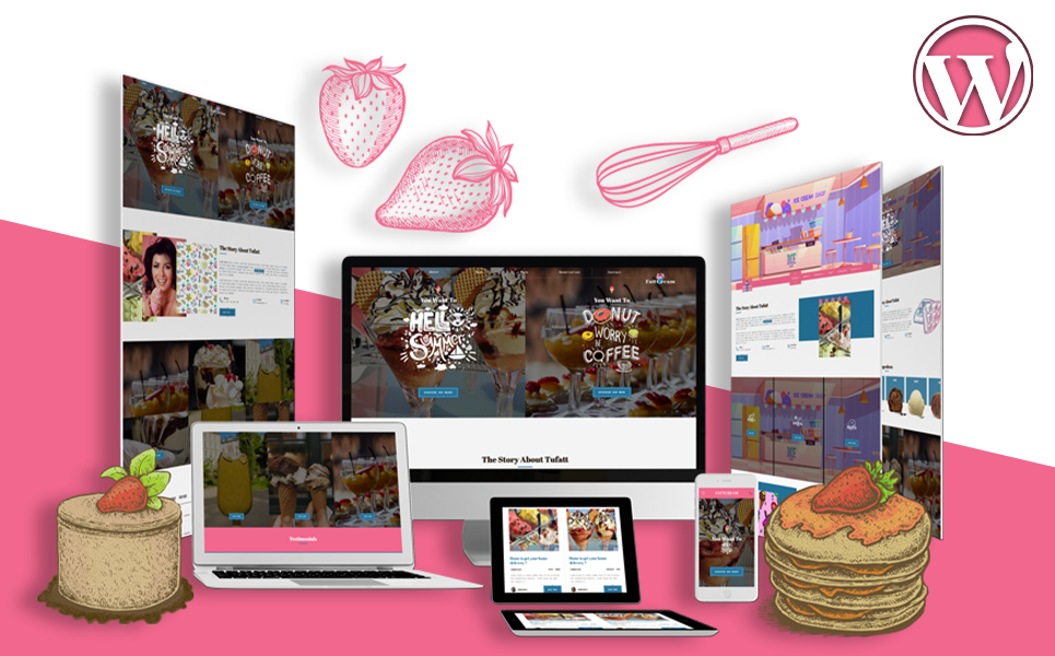 Ice Cream & Frozen Yogurt | Summercream WordPress Theme