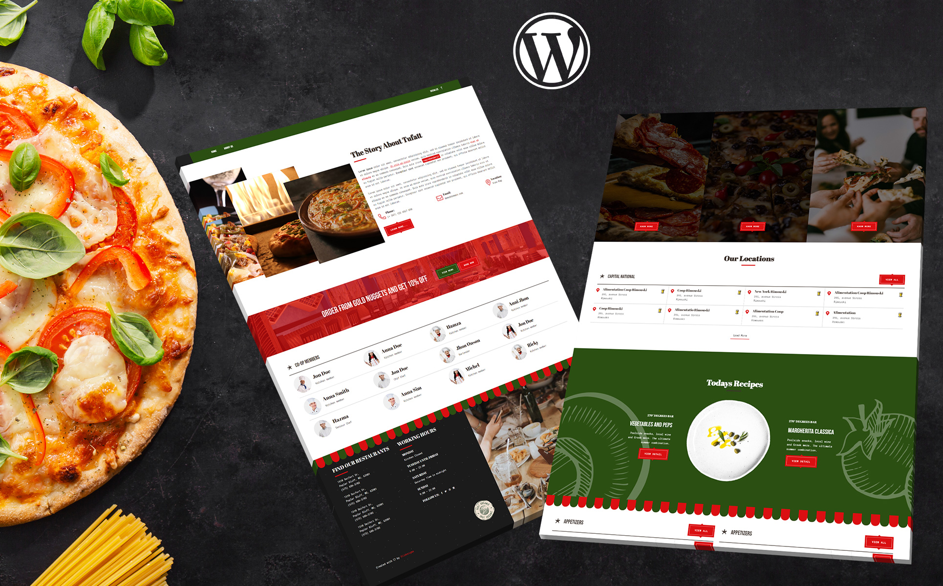 10 plantillas Wordpress para cafeterías y restaurantes 14
