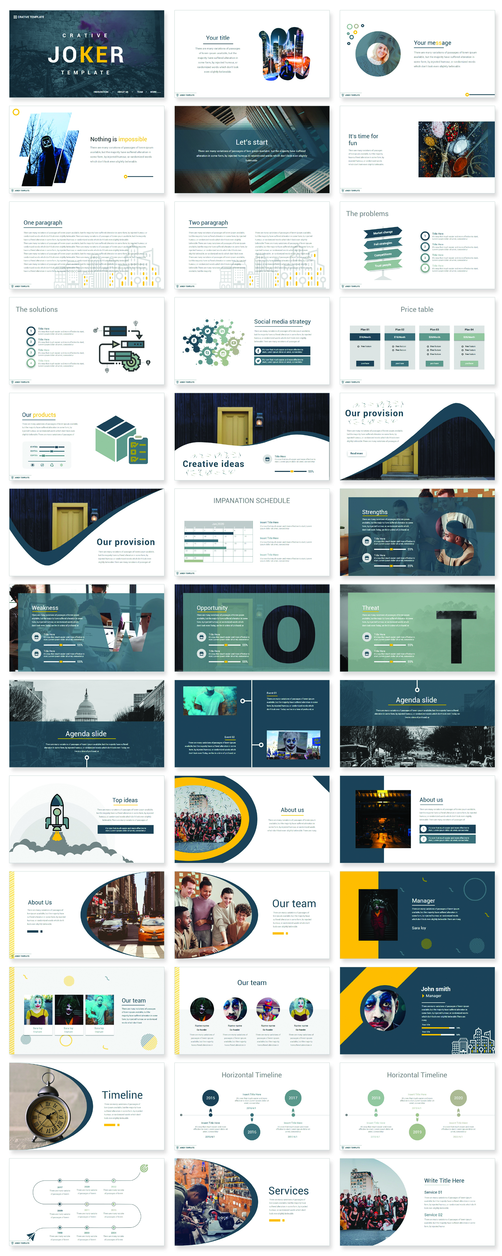 Pro Present PowerPoint Template