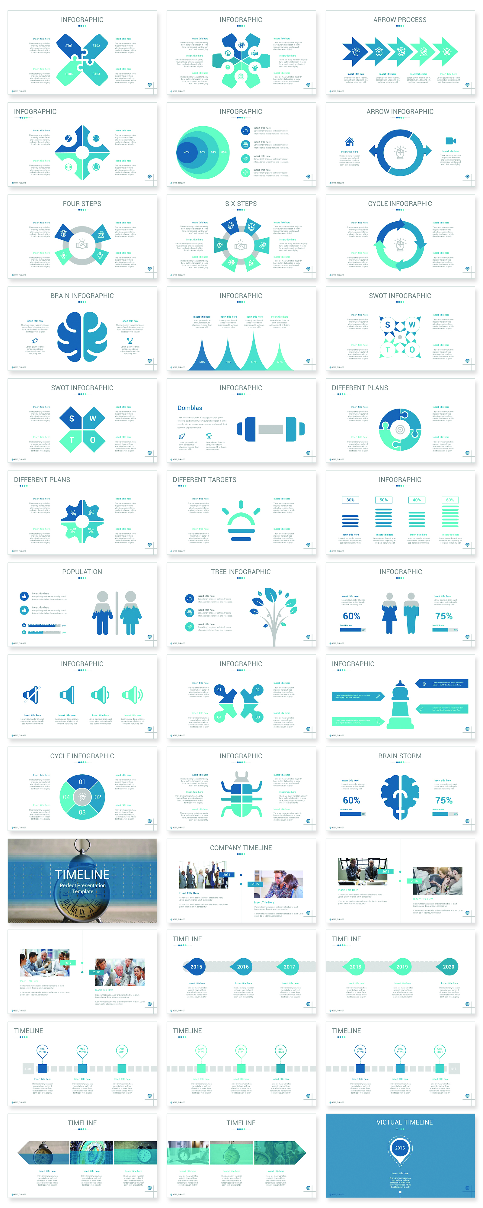 Best Target PowerPoint Template