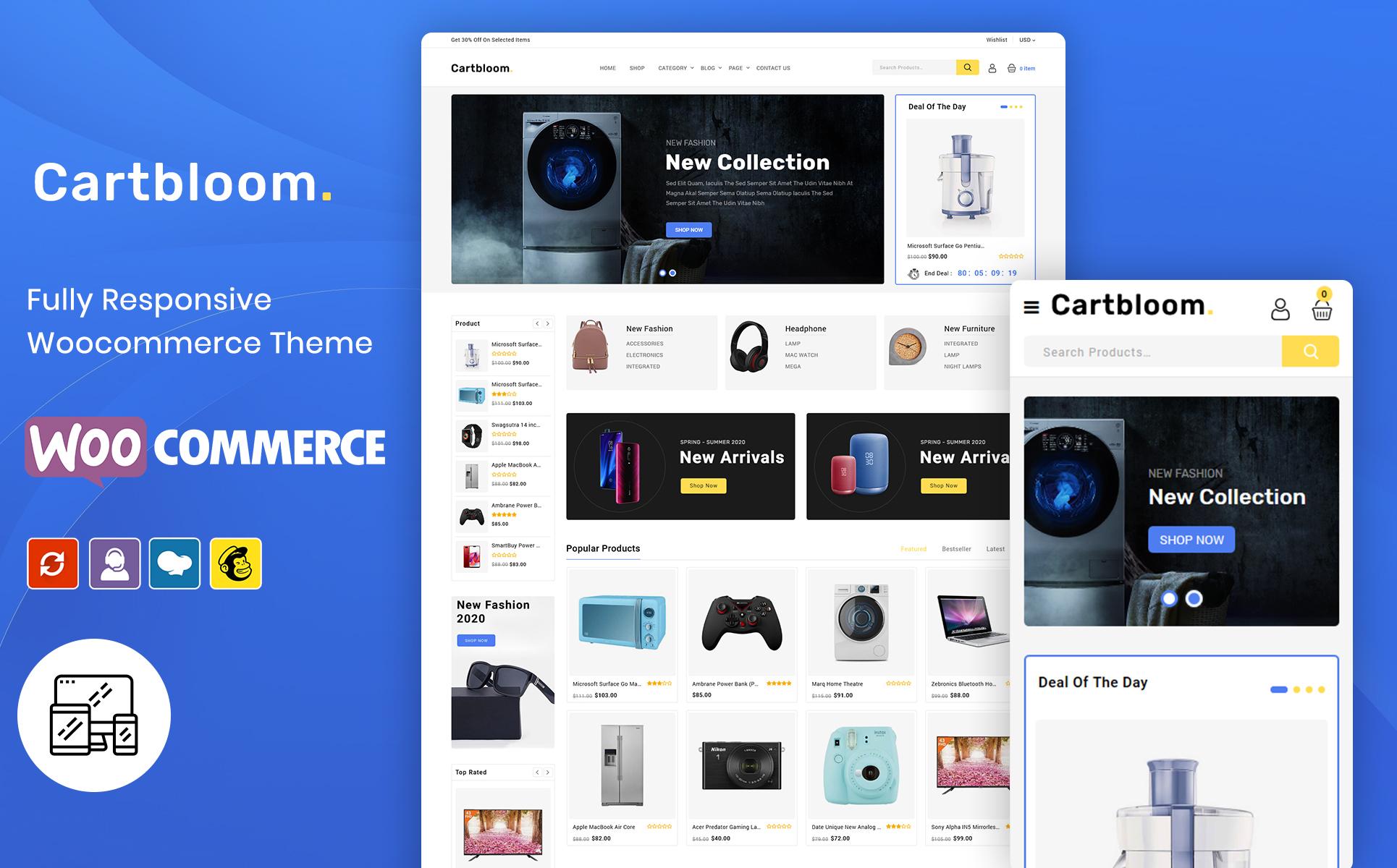 CartBloom - Multipurpose Electronic WooCommerce Theme