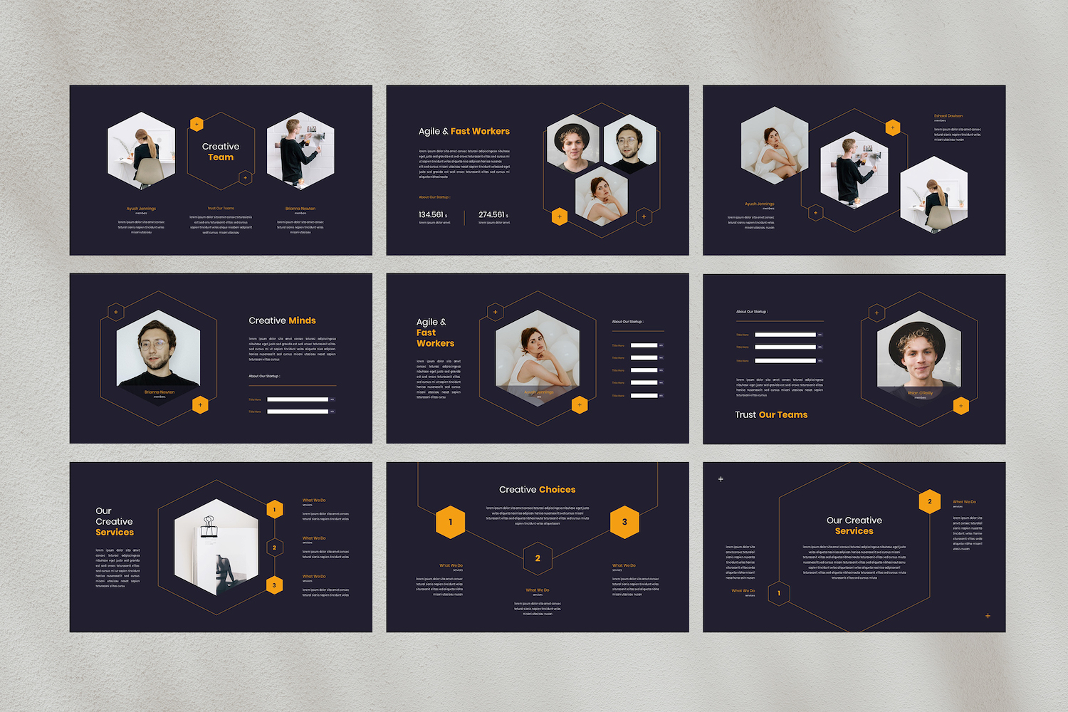Point - Creative PowerPoint Template