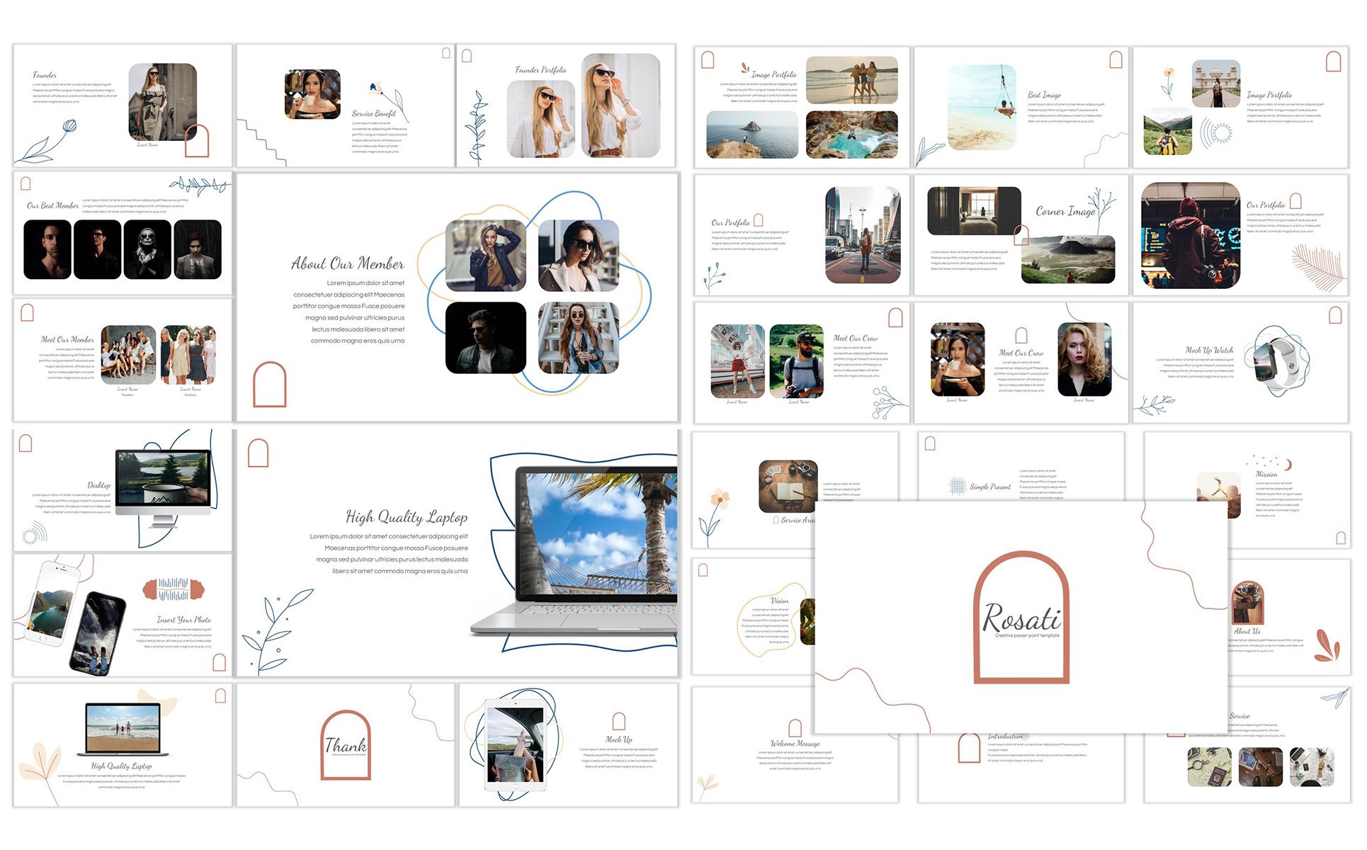 Rosati PowerPoint Template