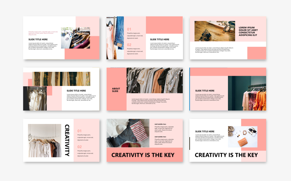 P1NK - Fashion PowerPoint Template