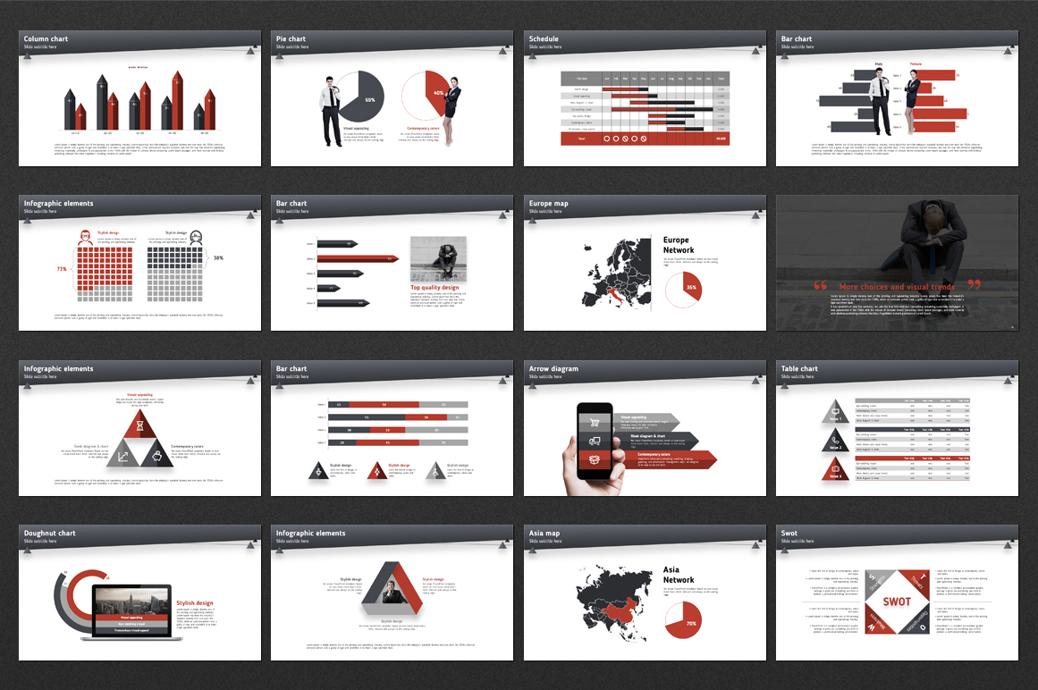 Layout Design PowerPoint Template