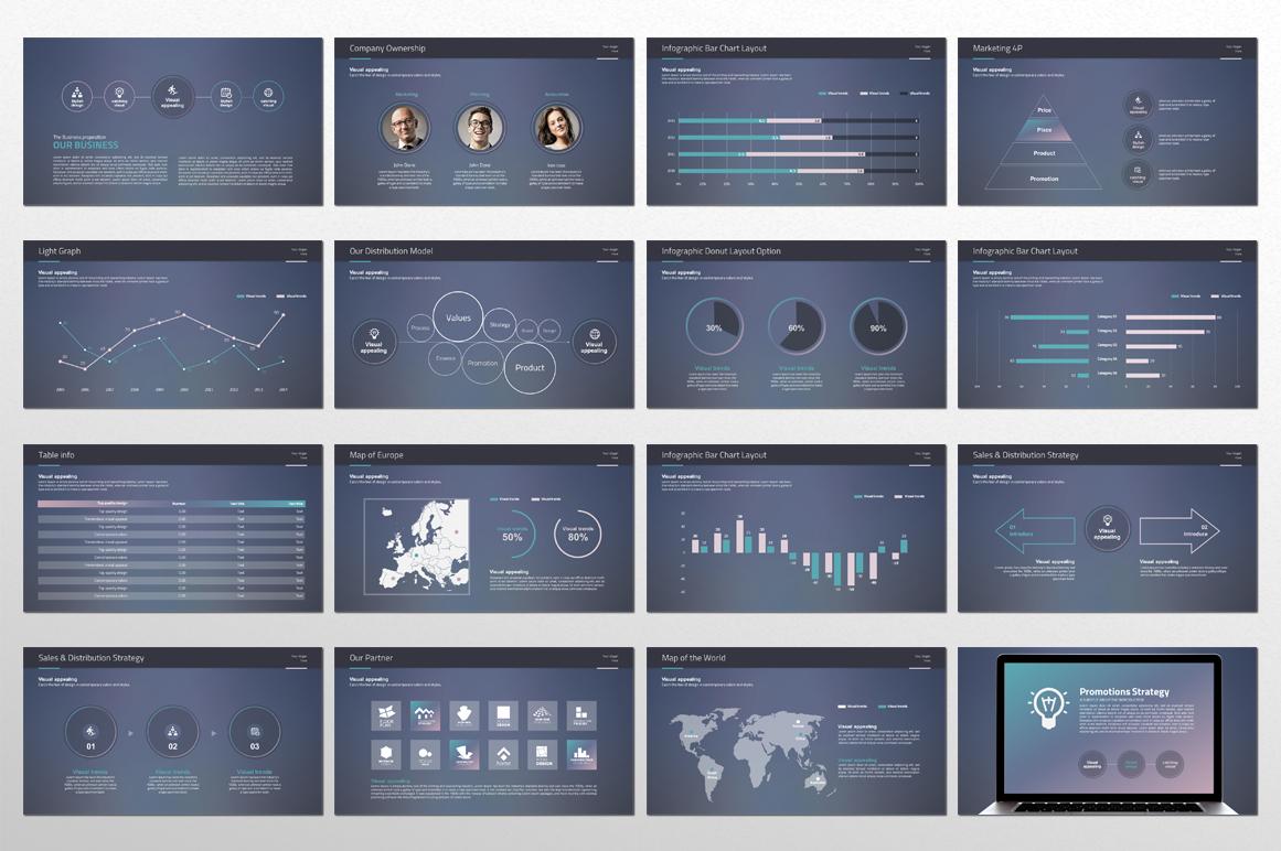 Idea Presentation PowerPoint Template