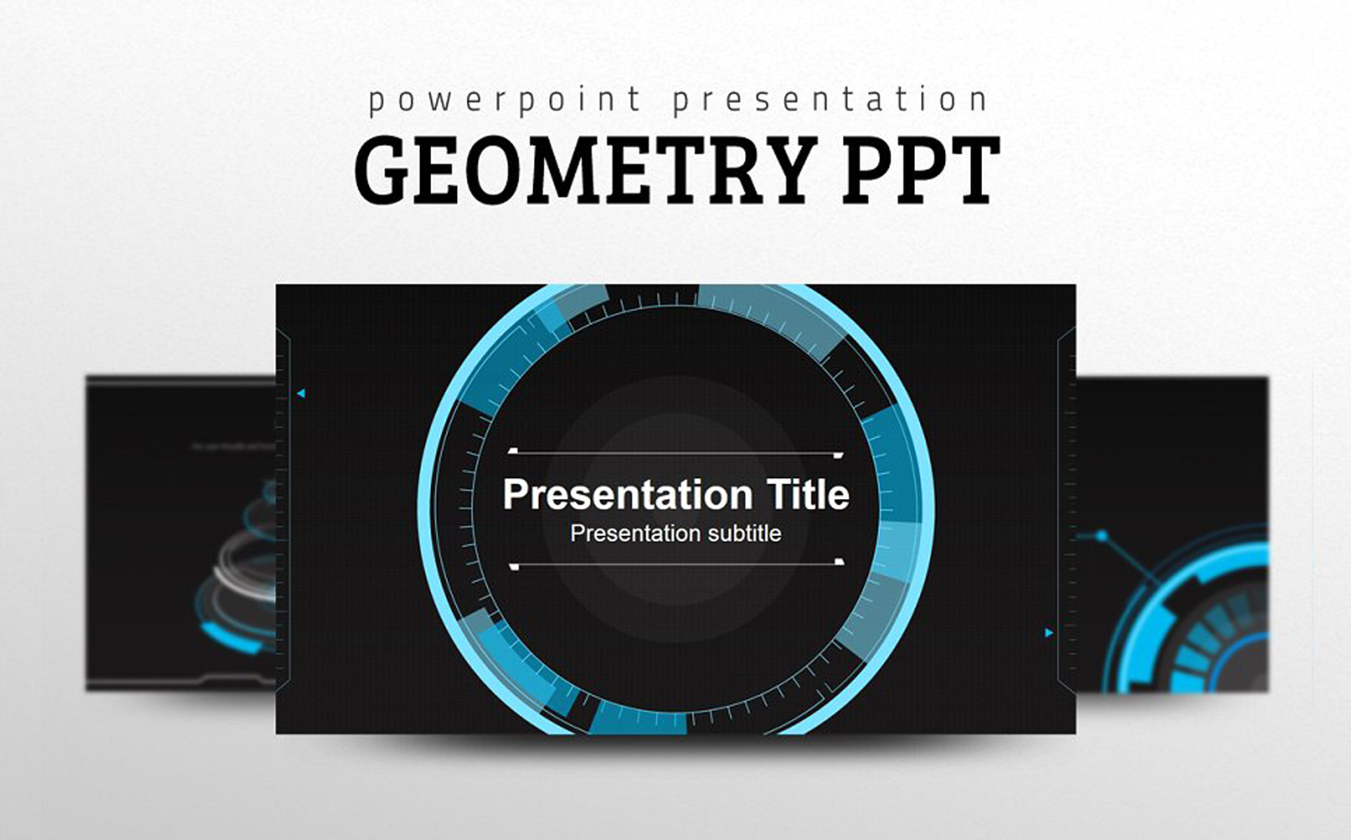 Geometry PPT PowerPoint Template