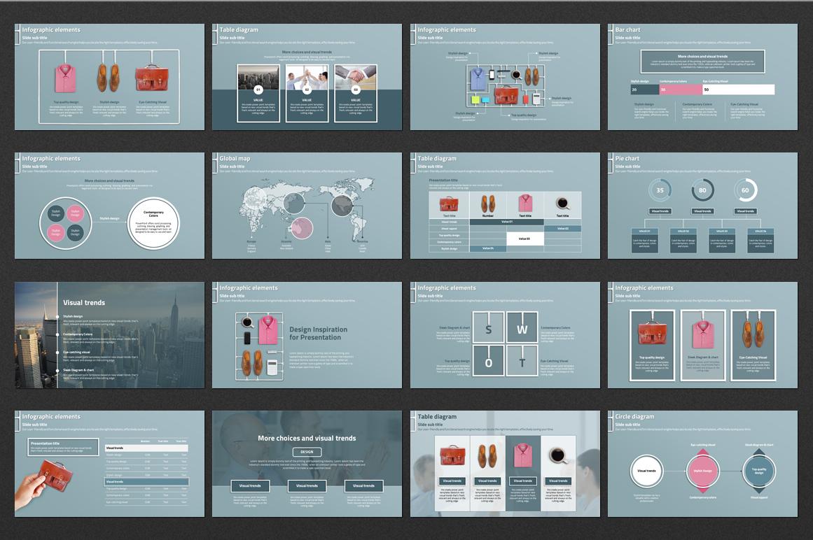 Business Work PowerPoint Template
