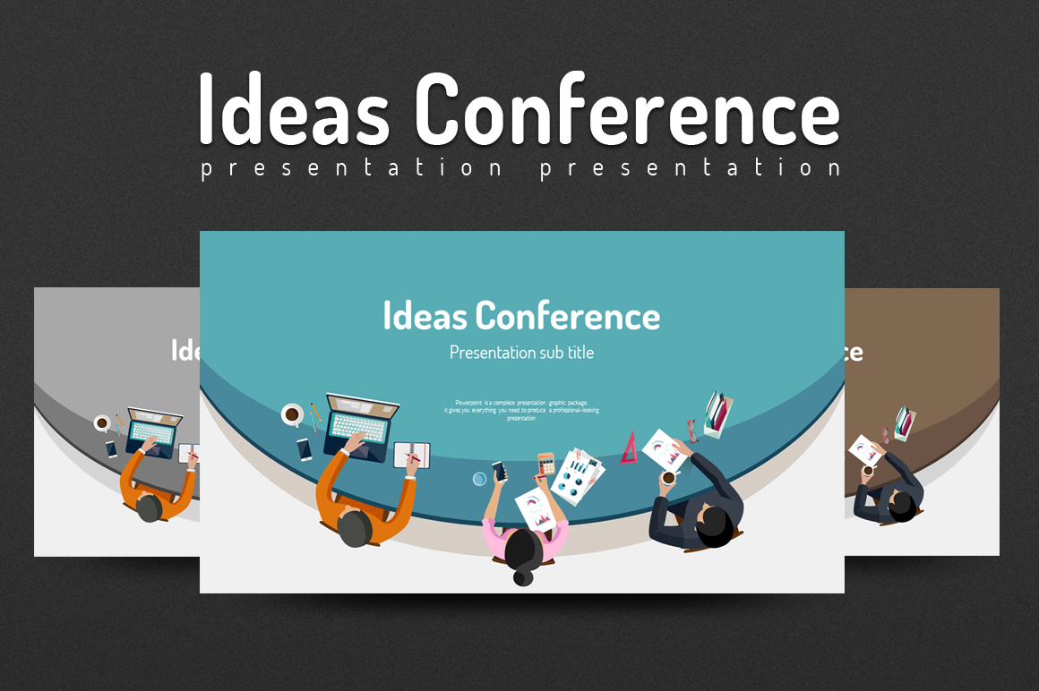 Ideas Conference PowerPoint Template