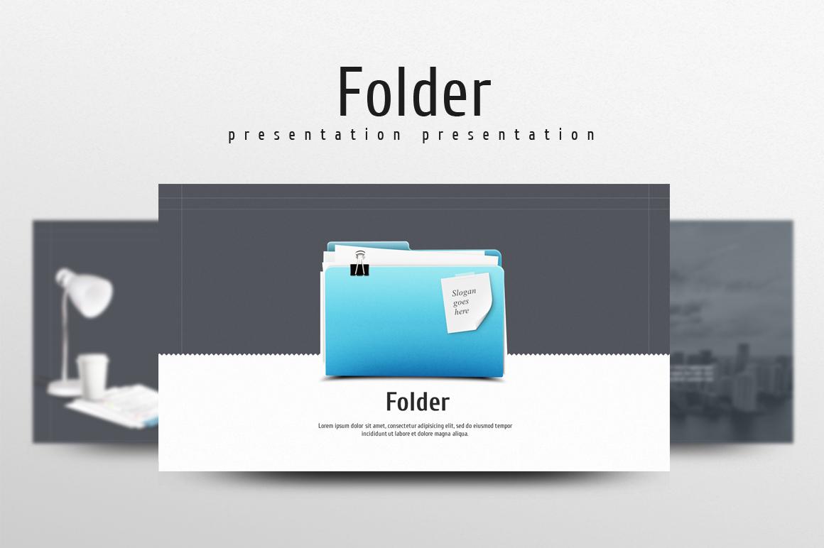 Folder PowerPoint Template