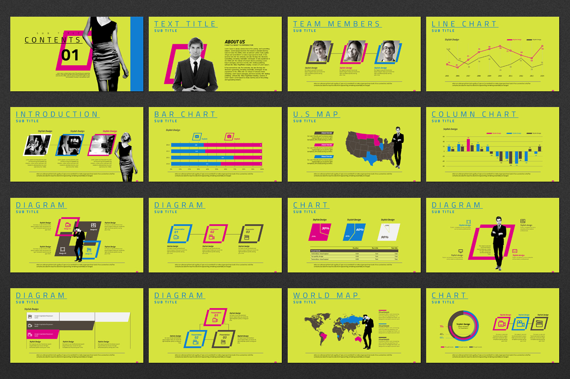 Entertainment Company PowerPoint Template