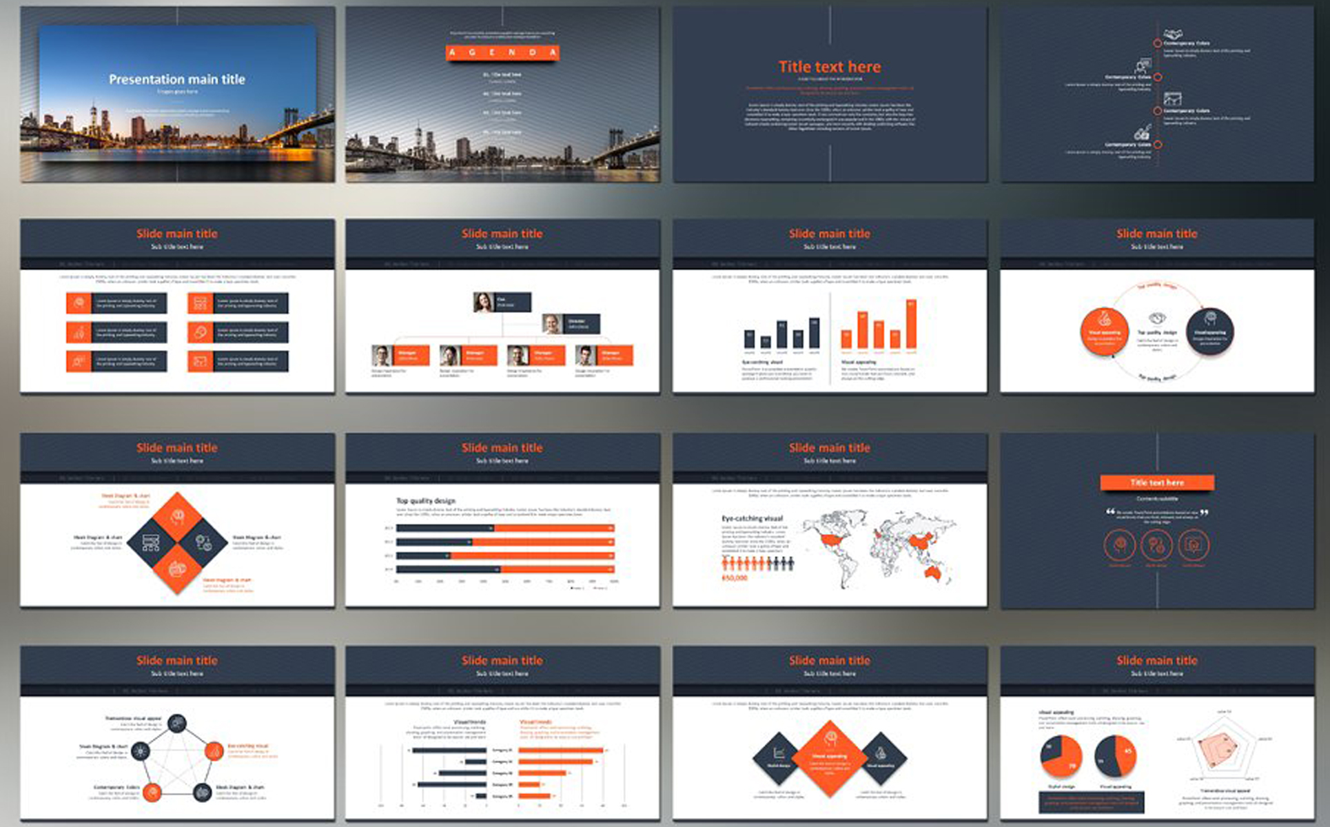 Finance PPT PowerPoint Template