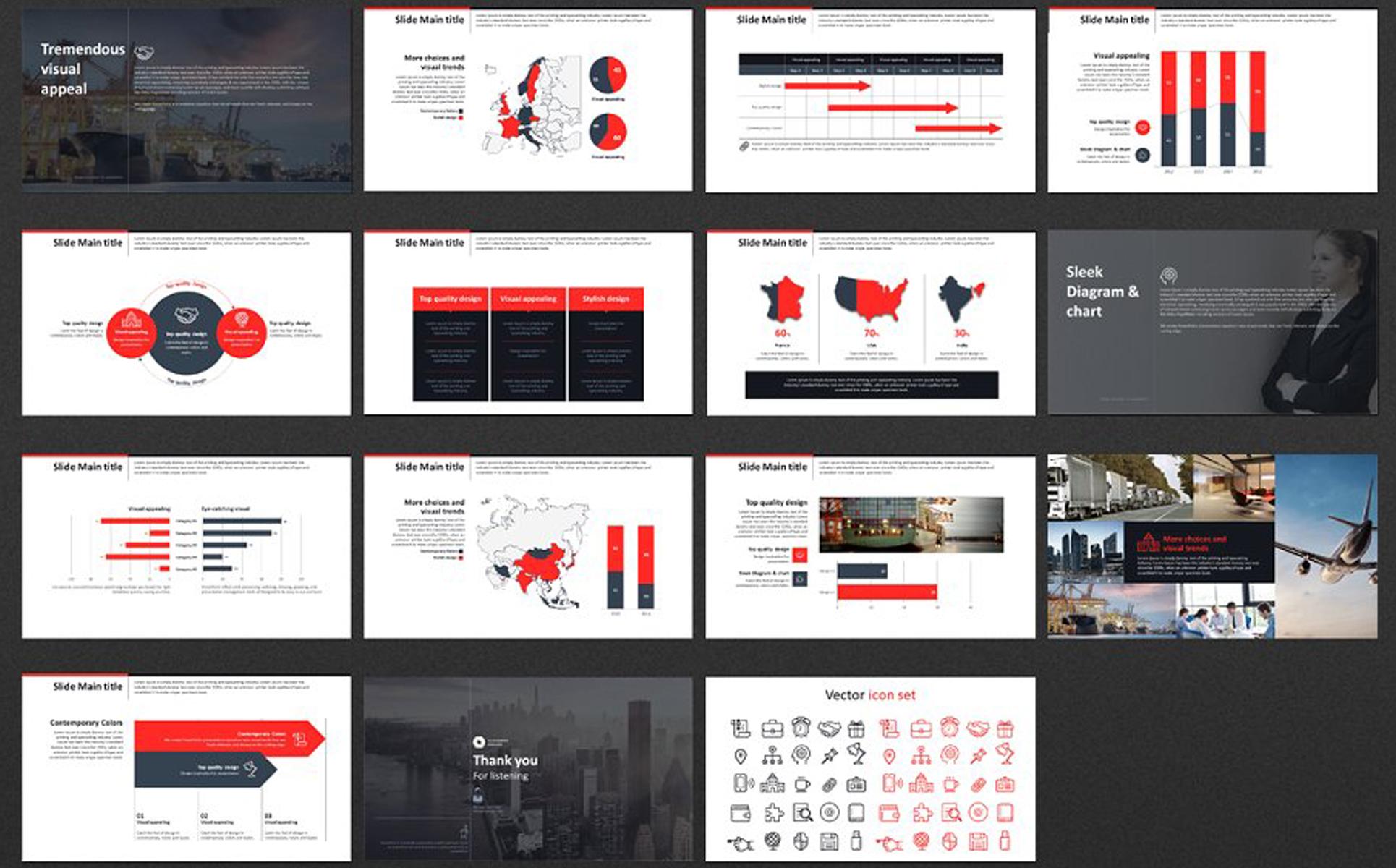 Meeting Presentation PowerPoint Template