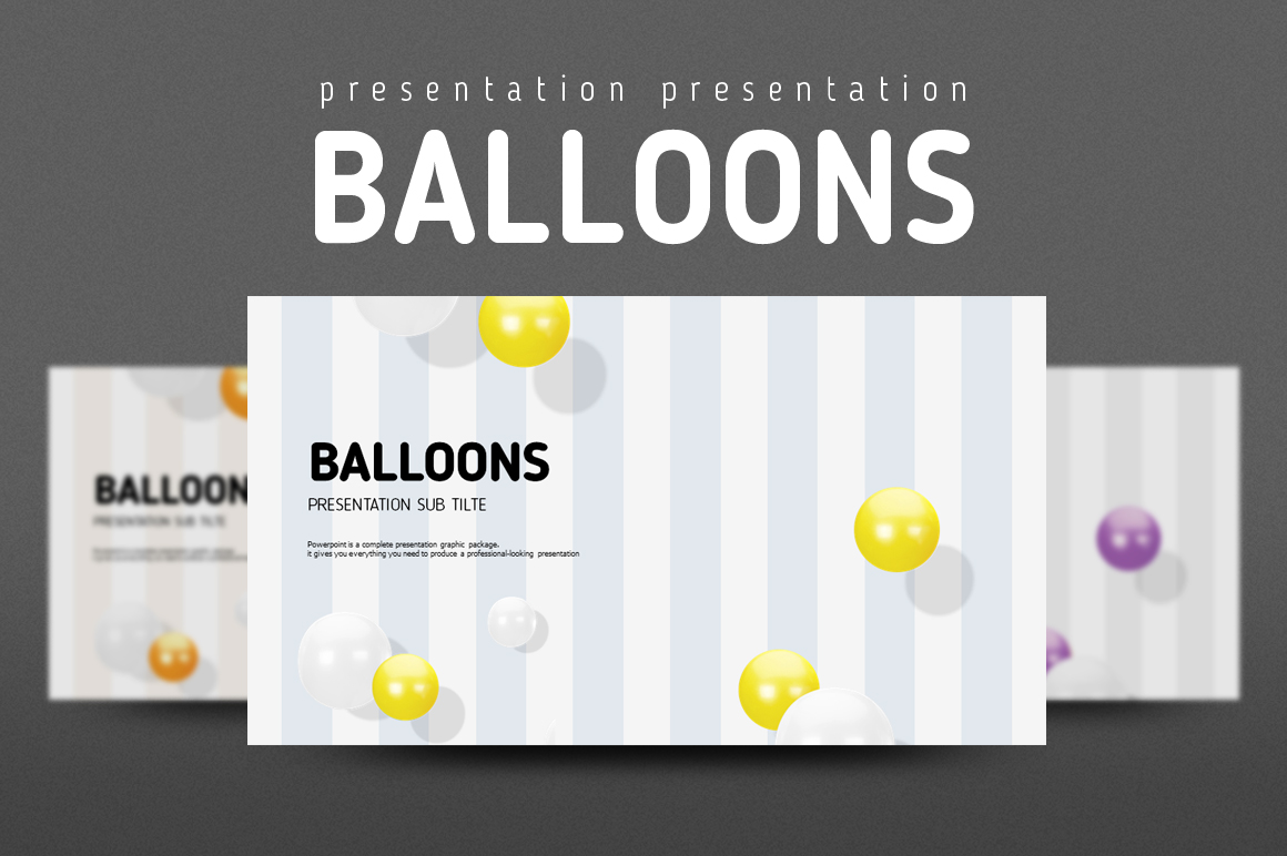 Birthday Party PowerPoint Template