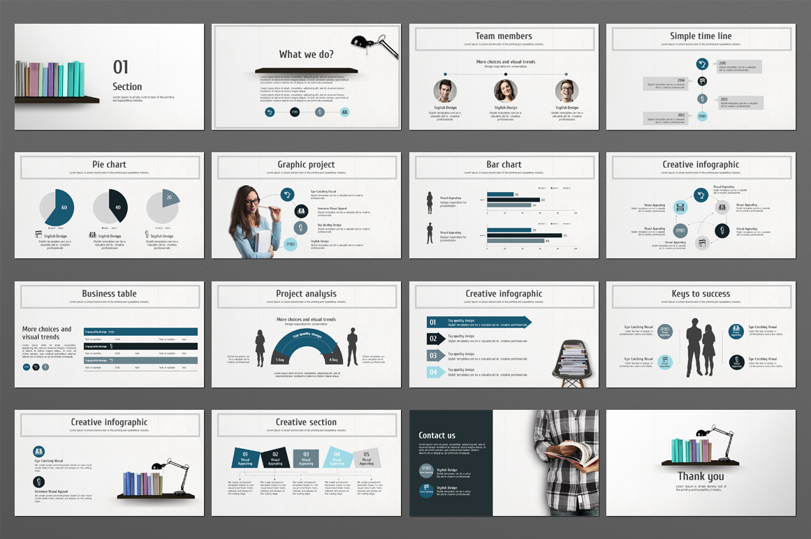 Reading PPT PowerPoint Template
