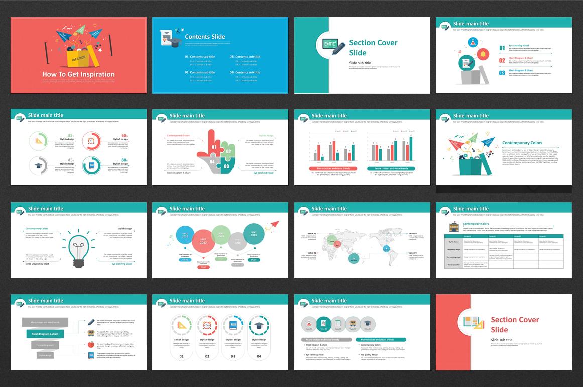 Creative Presentation PowerPoint Template