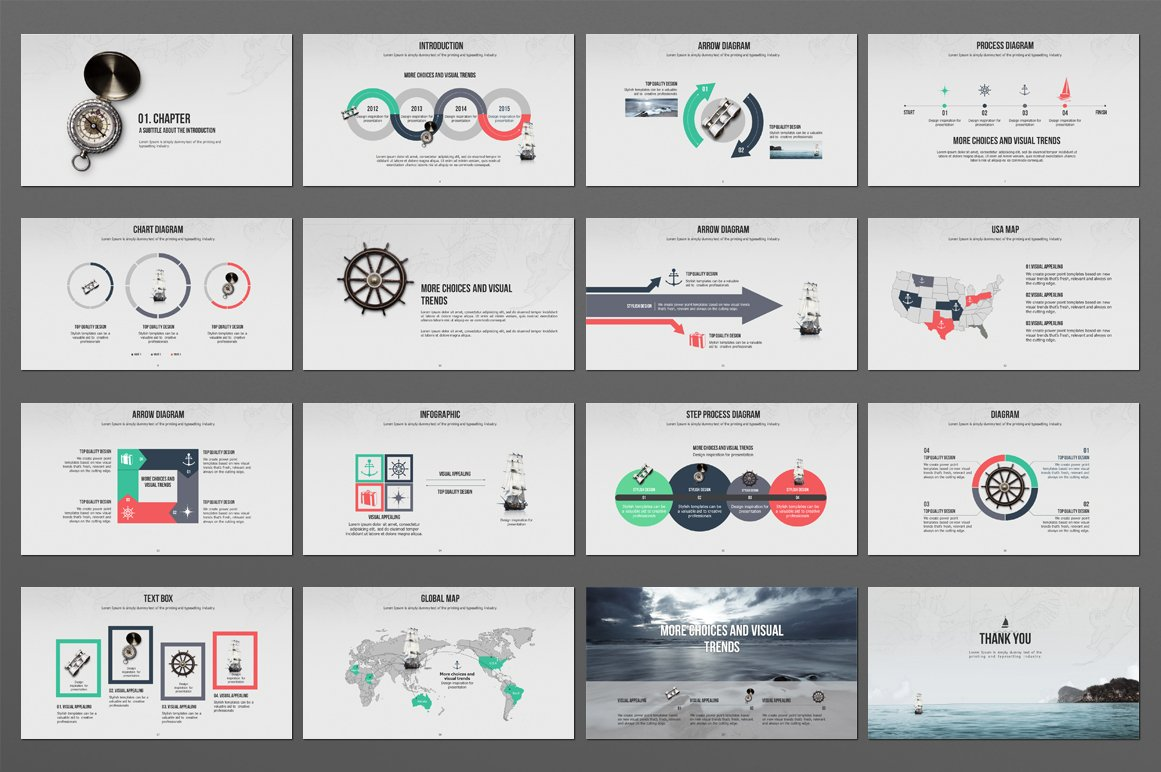 Sailing PowerPoint Template