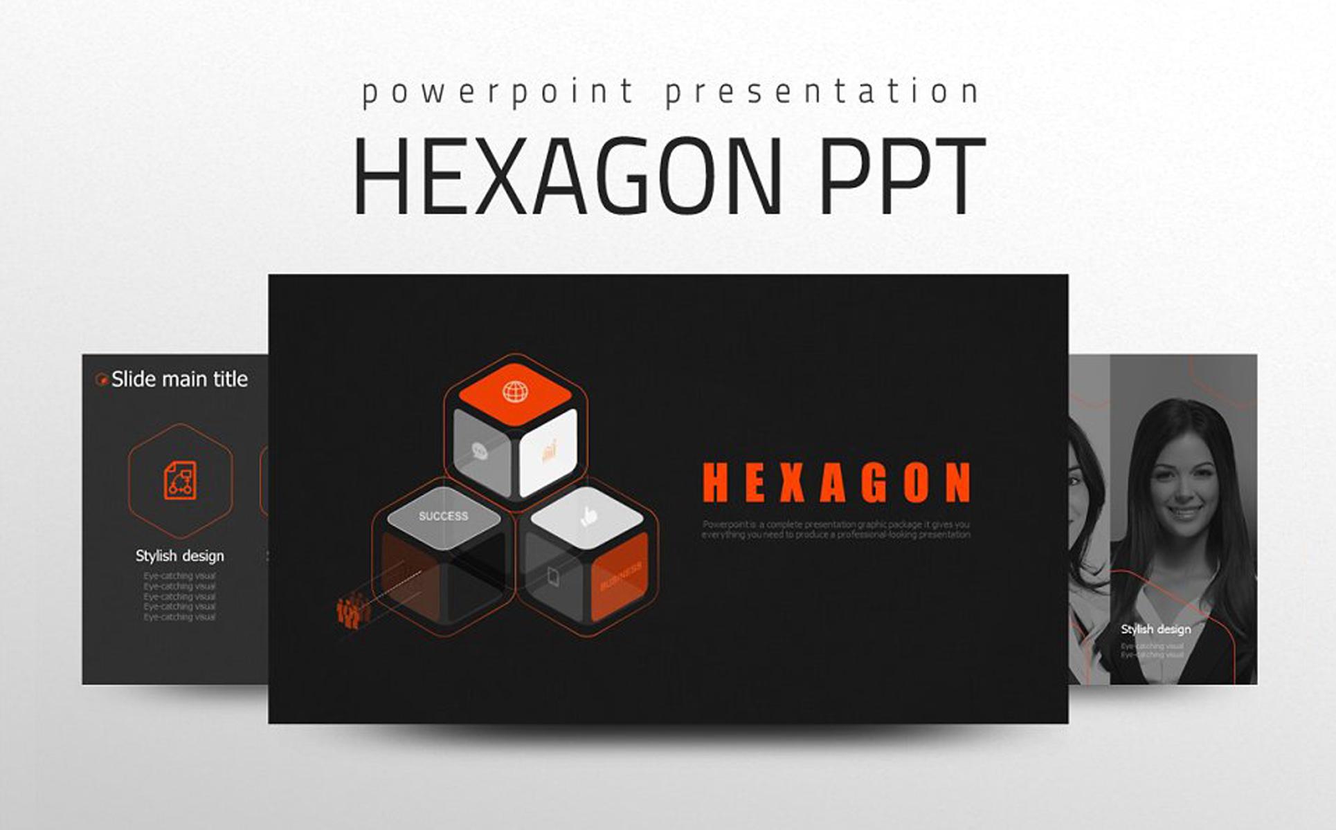 Hexagon PowerPoint Template
