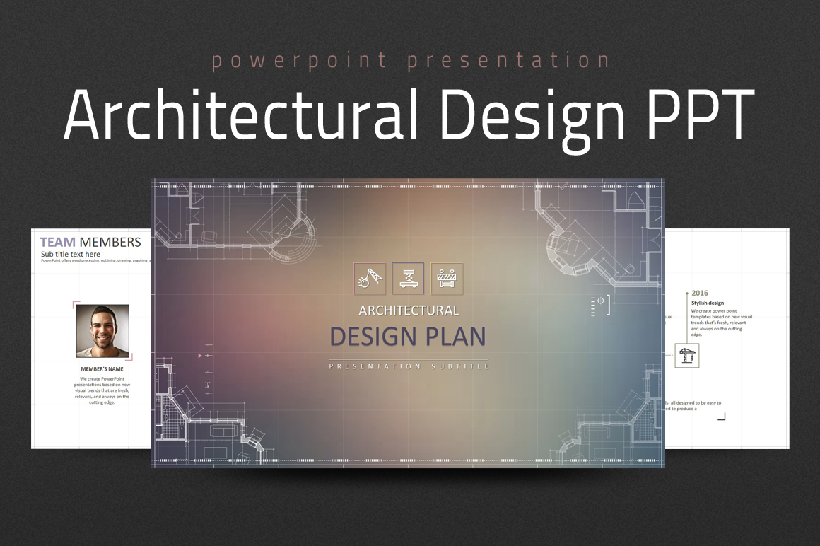 Architectural Design PPT PowerPoint Template
