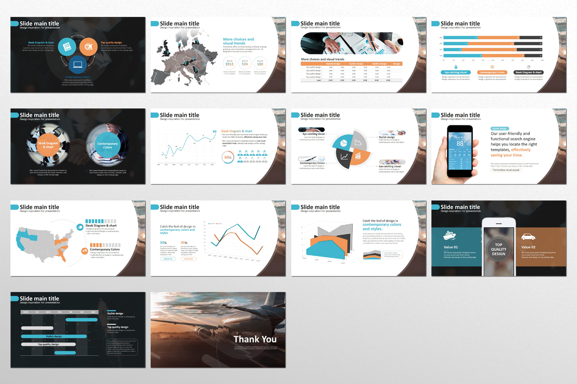 Travel Business PowerPoint Template