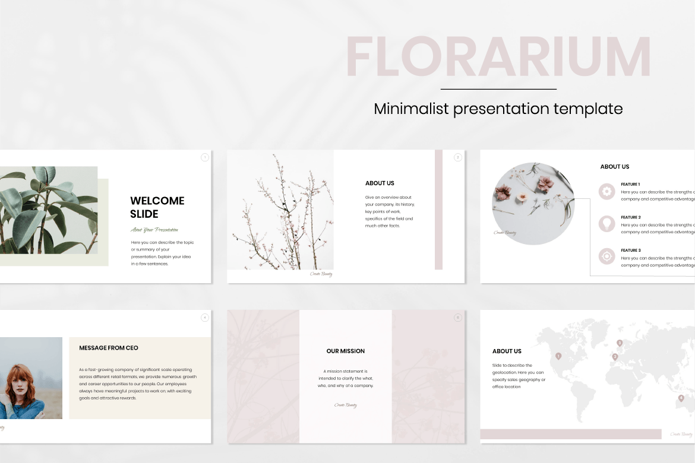 Beauty Presentation PowerPoint Template